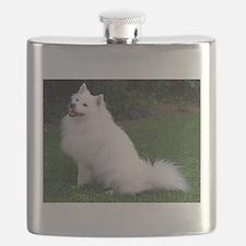american eskimo full Flask