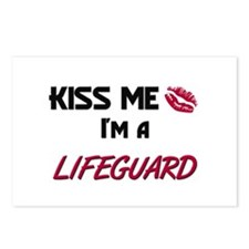 Kiss Me I'm a LIFEGUARD Postcards (Package of 8)