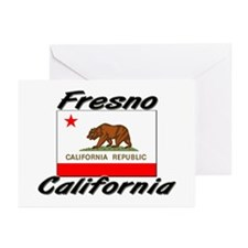 Fresno California Greeting Cards (Pk of 10)