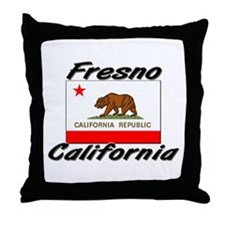 Fresno California Throw Pillow