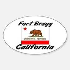 Fort Bragg California Oval Decal