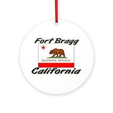 Fort Bragg California Ornament (Round)