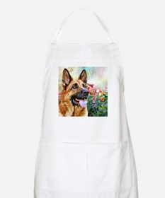 German Shepherd Painting Apron
