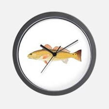 Redfish Red Drum Wall Clock