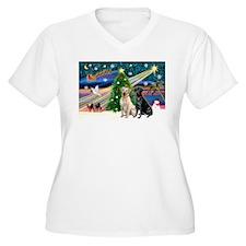 Xmas Magic/2 Labs (Y+B) T-Shirt