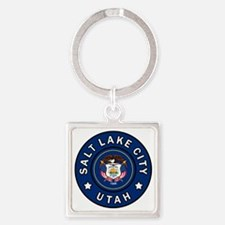 Cute Layton Square Keychain