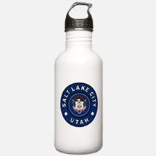 Salt Lake City Utah Water Bottle