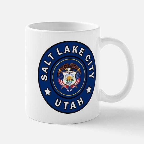 Salt Lake City Utah Mugs