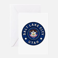Salt Lake City Utah Greeting Cards