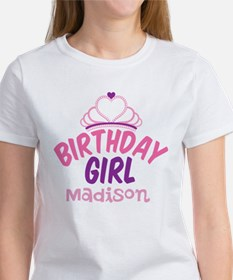 Birthday Princess Custom Women's T-Shirt