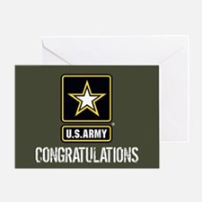 U.S. Army: Congratulations (Military Greeting Card
