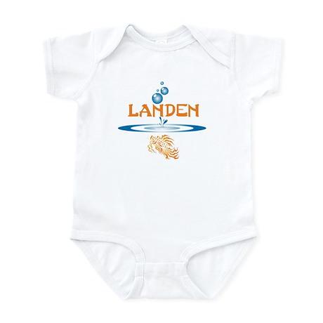 Landen (fish) Infant Bodysuit