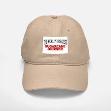 """The World's Greatest Sugarcane Grower"" Baseball Baseball Cap"