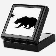 Cute California republic Keepsake Box