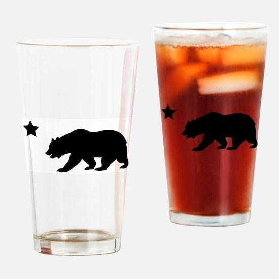 Cute California republic Drinking Glass