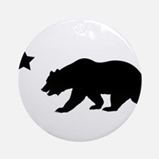Cute California republic Round Ornament