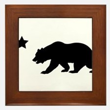 Cute California republic Framed Tile