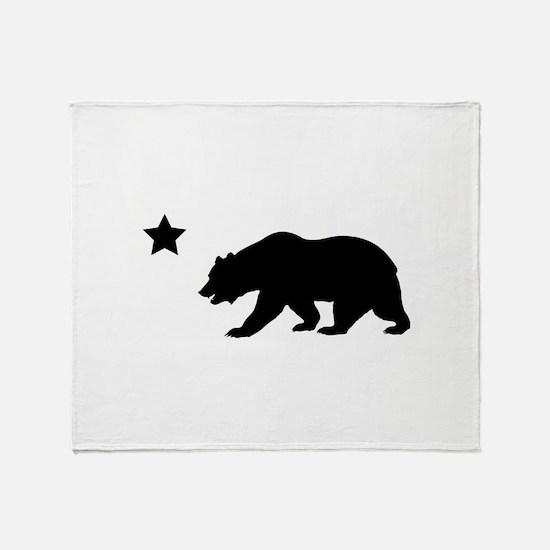Cute California republic Throw Blanket
