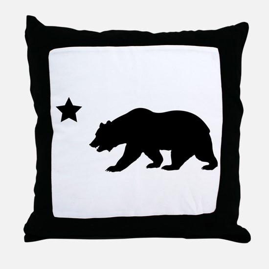 Unique California republic Throw Pillow