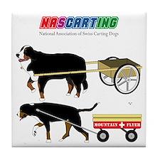 NASCARTING! Tile Coaster