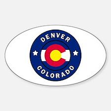 Funny Coloradoan Sticker (Oval)