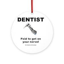 Dentist Ornament (Round)