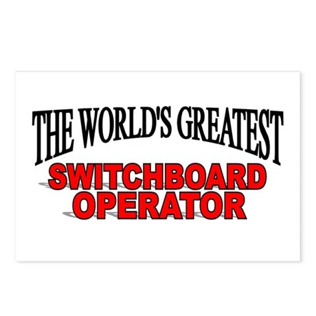 """The World's Greatest Switchboard Operator"" Postca"