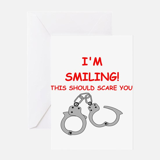 bondage joke on gifts and t-shirts. Greeting Cards