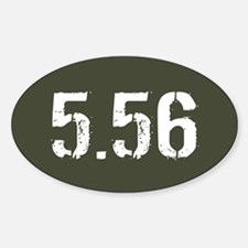 5.56 Ammo: Military Green Decal