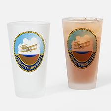 USS Kitty Hawk CV-63 Drinking Glass