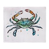 Crab Fleece Blankets
