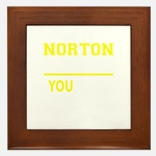 NORTON thing, you wouldn't understand! Framed Tile