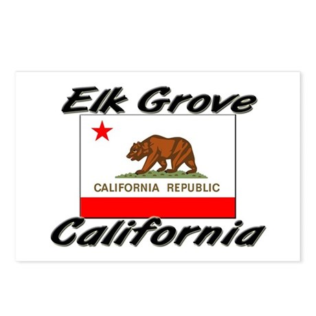 Elk Grove California Postcards (Package of 8)