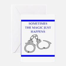 bondage joke on gifts and t-shirts. Greeting Cards