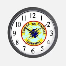 USS John W. Weeks (DD 701) Wall Clock