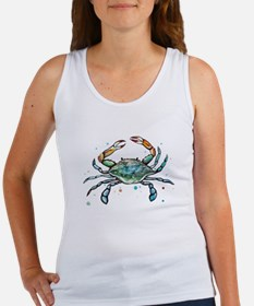 Maryland Blue Crab Tank Top