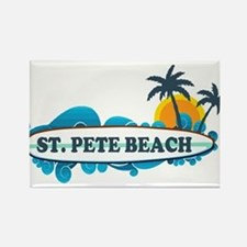 St. Pete Beach - Surf Design. Magnets