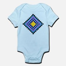 beaded squares Body Suit