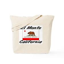 El Monte California Tote Bag