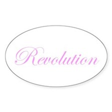 Revolution Oval Decal