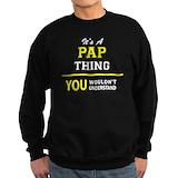 Pap pap Sweatshirt (dark)