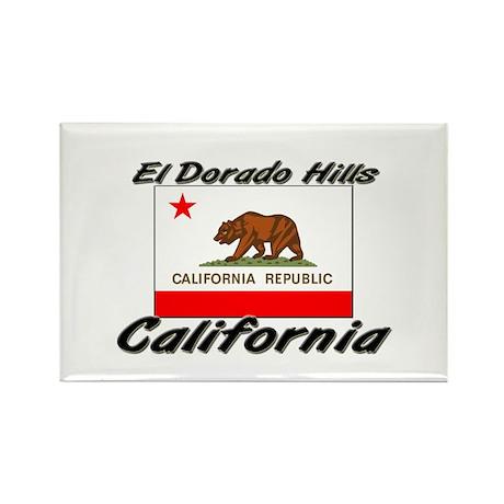 El Dorado Hills California Rectangle Magnet