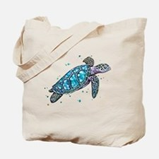 Cute Turtle Tote Bag
