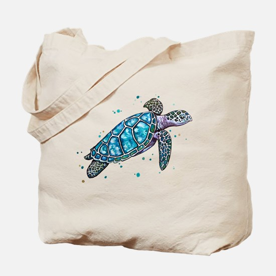 Cute Beach design Tote Bag
