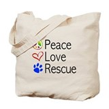 Animal rescue Canvas Totes