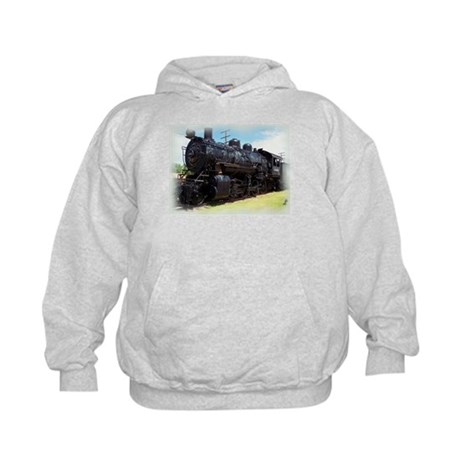 Kids Train and Caboose Hoodie