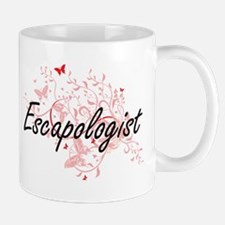 Escapologist Artistic Job Design with Butterf Mugs
