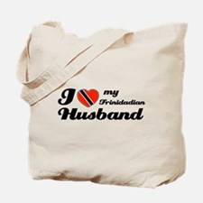 I love my Trinidadian Husband Tote Bag