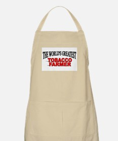 """The Worlds Greatest Tobacco Farmer"" BBQ Apron"
