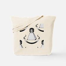 Funny Black freemason Tote Bag
